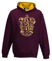 Harry Potter Gryffindor House Hoodie Personalised number