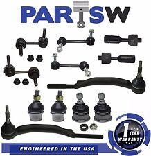 12 Pc Complete Suspension Kit for Chevy Trailblazer GMC Envoy Bravada 2002 14mm