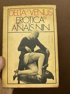 Vintage book Delta Of Venus Erotica By Anais Nin Sexy Hardcover