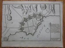 De Fer: View of Goeteborg Sweden - 1695