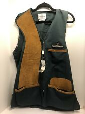 Castellani shooting Vest NWT Size 36 US Made In Italy 🇮🇹