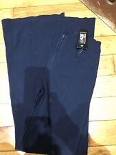 Navy Blue School Work Trouser Size 8-10 Girls 15-16 Bnwt