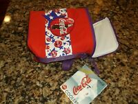 COCA COLA LUNCH BAG 1997 COKE BAGS LUNCHBOXES ADVERTISING COOLER  COOLERS