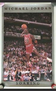 Vintage Michael Jordan #3092 Soaring Poster Starline Bulls FACTORY SEALED 1989