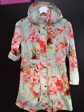 Beautiful Girls Designer Ted Baker Floral Spring Summer Jacket Mac Coat 12yrs💗