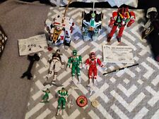 Power Rangers DragonZord & White TigerZord Lot Green Ranger White Ranger