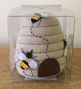 PIN CUSHION BEE HIVE Fabulous Design BOXED