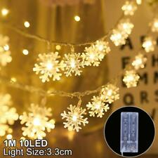 Snowflake LED Light Christmas Tree Decoration For Home 2020 Happy New Year 2021