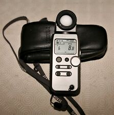 Sekonic L-358 Flashmaster with soft case