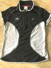 NIKE Golf Fit Dry,Polo-Shirt,Gr.M 38/40-168cm,Golf Partner Lofo,Schwarz Weiß