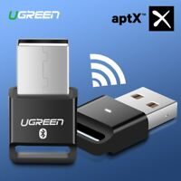 Ugreen USB Bluetooth Dongle Adapter 4.0 for PC Reciever Transmitter aptX