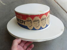 1960 US Democratic Presidential Campaign Win With Kennedy Photo Convention Hat