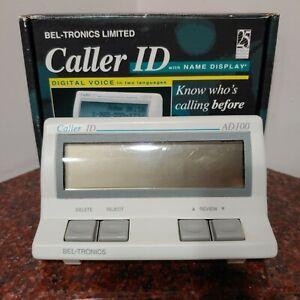 BEL-TRONICS AD100 Caller ID / Call Blocker Digital Voice Call Reject