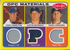 2009 (RAYS) (RANGERS) (TWINS) O-Pee-Chee Materials HML Longoria/Morneau/Hamilton