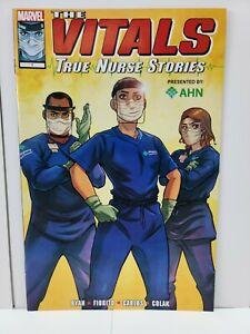 The Vitals True Nurse Stories #1 | Marvel 2020 | Rare Low Print Run High Grade