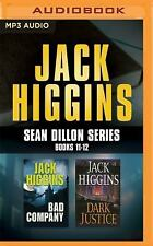 Jack Higgins - Sean Dillon Series: Books 11-12: Bad Company, Dark Justice (MP3)