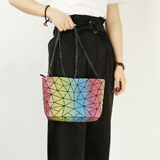 089fb0f9ba28 Women Gradient Geometric Plaid Bag Women Shoulder Bag Starry Sky Crossbody  Bag