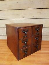 Antique Wooden Filing Cabinet / Filing Drawers