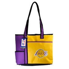 New Gameday Tote Purse Bag NBA Licensed LOS ANGELES LAKERS Embroidered Logo gift