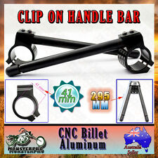 Pair 41mm CNC Clip-On Ons Handle bar For Honda Nighthawk 650 CB650SC 750 CB750