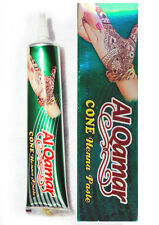 Al Qamar Hand Mehndi/Henna (box of 12) dark red
