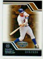 2008 Topps Triple Threads Sepia #1 David Wright New York Mets Baseball Card /525