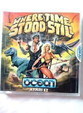 66347 Where Time Stood Still - Atari ST (1988)