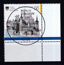 BRD 2002 gestempelt ESST Berlin Eckrand unten rechts MiNr. 2232
