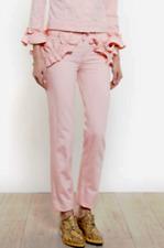J Brand Simone Rocha Ruffle Slim Boyfriend Jean Pink NWT $300