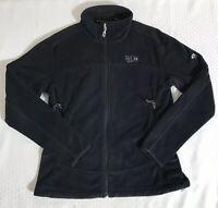 Mountain Hardwear Women's Black Fleece Full Zip Jacket Size Medium