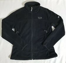 Mountain Hardwear Women's Black Fleece Full Zip Jacket Size Medium