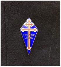 Insigne FNFL France Libre USN Pilote ww2 USAAF FFL Casque veste para Dday FAFL