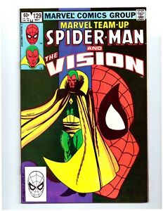 MARVEL TEAM-UP #129 130 * Spider-Man Vision Scarlet Witch WandaVision * 9.6 NM+