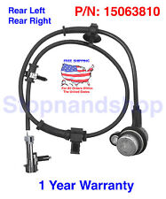 New ABS Wheel Speed Sensor fits Escalade Avalanche Tahoe Yukon Rear Left Right