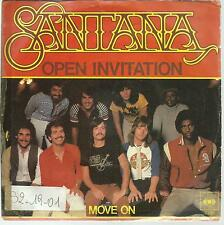 DISQUE 45T  SANTANA   OPEN  INVITATION          /A