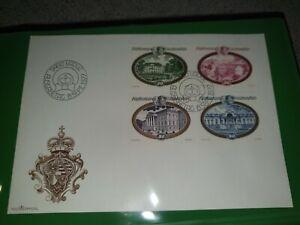 Briefmarken Ganzsache Erstagsbriefe Fürstfntum Liechtenstein Safe Album