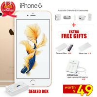 New in Sealed Box Factory Unlocked APPLE iPhone 6 Gold 16 64 128GB 1Yr Wty