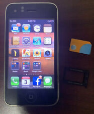 Apple iPhone 3GS - 8GB - Black (AT&T) A1303 (GSM) Cracked Back Clean IMEI Works