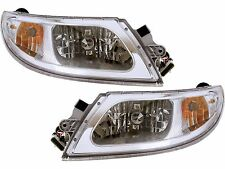INTERNATIONAL 4300 4400 2003 2004 2005 HEAD LIGHTS HEADLIGHTS FRONT LAMPS PAIR