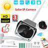 Solar Security Outdoor Camera 1080P 2MP Wireless Wifi Home Night Vision Webcam