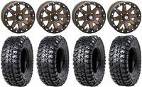"STI HD9 14"" Beadlock Wheels BR 31"" Chicane RX Tires Sportsman RZR Ranger"