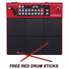 Nord Drum-3P Modeling Percussion Synthesizer NEW Drum3P Drum 3P  FREE RED STICKS