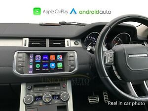 Wireless Apple CarPlay Android Auto for Land Rover Range Rover Evoque 2011-2015