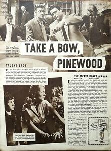 The Secret Place Belinda Lee, David McCallum Anne Blake Vintage Film Review 1957