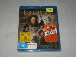The Lord Of The Rings - The Return Of The King - Brand New - Region B - Blu Ray