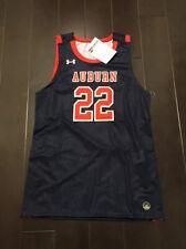 Under Armour Men's Auburn Tigers Reflexx #22 Basketball Jersey Sz.L NEW BARKLEY