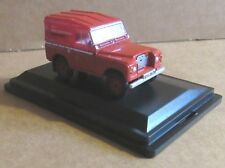 OXFORD DIECAST LAND ROVER SERIES IIA SWB HARD TOP 1:76 SCALE ROYAL MAIL POST BRE