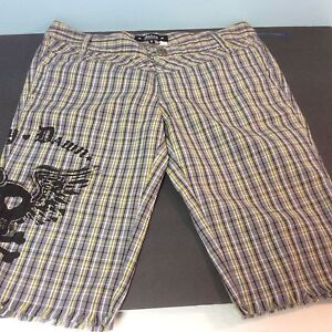 Abbey Dawn by Aril Lavigne Shorts Size 3 Plaid NEW Ships Free