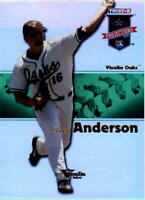 2008 TRISTAR PROjections Reflectives Green #331 Brett Anderson /50 - NM-MT