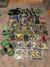 HUGE Ben 10 Ten 50+ Lot Figures Toys Cars Cards Accessories Omnitrix Watch Rare